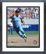 Kansas City Royals George Brett 1981 Fielding Action Framed Photo
