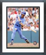 Kansas City Royals George Brett 1988 Action Framed Photo