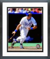 Kansas City Royals George Brett 1992 Action Framed Photo