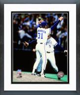 Kansas City Royals George Brett & Bret Saberhagen 1985 World Series Framed Photo