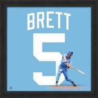 Kansas City Royals George Brett Uniframe Framed Jersey Photo