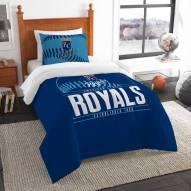 Kansas City Royals Grand Slam Twin Comforter Set