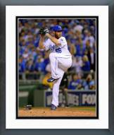 Kansas City Royals Greg Holland 2014 World Series Action Framed Photo