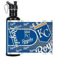 Kansas City Royals Hi-Def Black Stainless Steel Water Bottle
