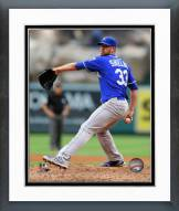 Kansas City Royals James Shields 2014 Action Framed Photo