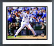 Kansas City Royals Jason Vargas 2014 AL Championship Series Action Framed Photo