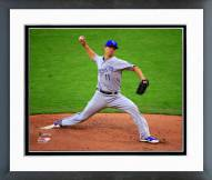 Kansas City Royals Jeremy Guthrie 2014 World Series Action Framed Photo