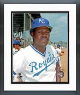 Kansas City Royals John Mayberry Posed Framed Photo