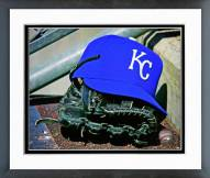 Kansas City Royals Kansas City Royals Hat & Glove Framed Photo