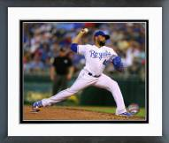 Kansas City Royals Kelvin Herrera 2014 action Framed Photo