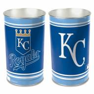 Kansas City Royals Metal Wastebasket
