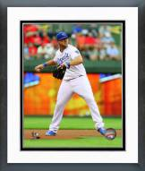 Kansas City Royals Mike Moustakas 2014 Action Framed Photo