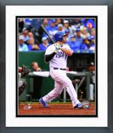 Kansas City Royals Mike Moustakas 2015 Action Framed Photo