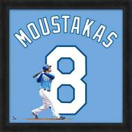 Kansas City Royals Mike Moustakas MLB Uniframe Framed Jersey Photo