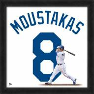 Kansas City Royals Mike Moustakas Uniframe Framed Jersey Photo