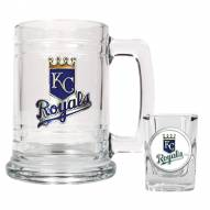 Kansas City Royals MLB Boilermaker Set - Shot Glass & Tankard Mug