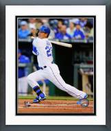 Kansas City Royals Norichika Aoki 2014 Action Framed Photo