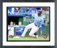 Kansas City Royals Paolo Orlando 2015 Action Framed Photo