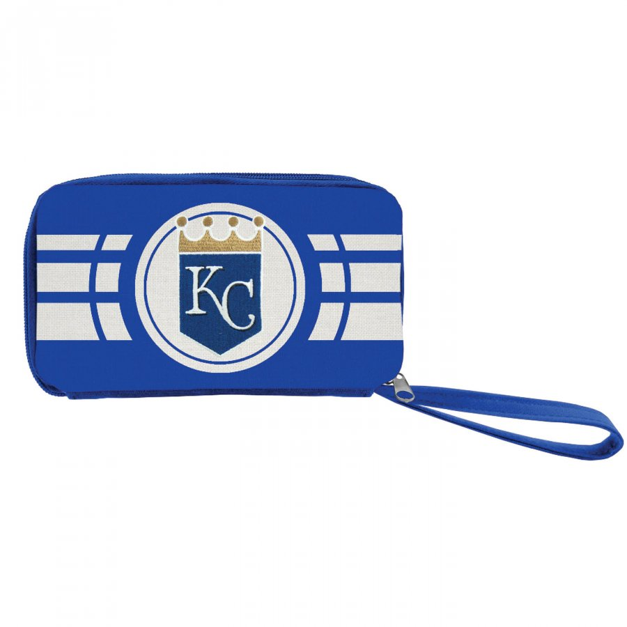 Kansas City Royals Ripple Zip Wallet