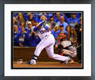 Kansas City Royals Salvador 2014 World Series Action Framed Photo