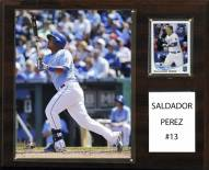 "Kansas City Royals Salvador Perez 12"" x 15"" Player Plaque"