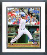 Kansas City Royals Salvador Perez 2014 Action Framed Photo