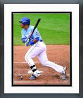 Kansas City Royals Salvador Perez 2015 Action Framed Photo