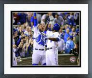 Kansas City Royals Salvador Perez & Lorenzo Cain 2015 Framed Photo