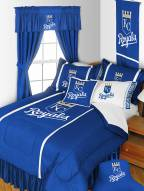 Kansas City Royals Sidelines Bed Set