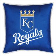 Kansas City Royals Sidelines Pillow