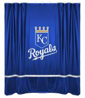 Kansas City Royals Sidelines Shower Curtain