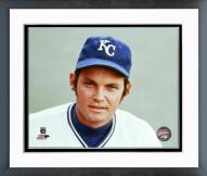 Kansas City Royals Steve Busby Posed Framed Photo