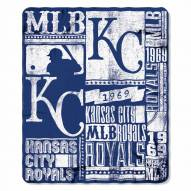 Kansas City Royals Strength Fleece Blanket