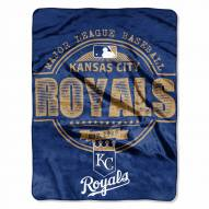 Kansas City Royals Structure Throw Blanket