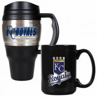 Kansas City Royals Travel Mug & Coffee Mug Set