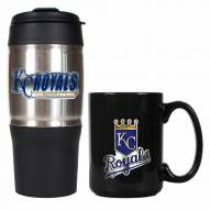 Kansas City Royals Travel Tumbler & Coffee Mug Set