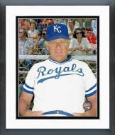 Kansas City Royals Whitey Herzog Posed Framed Photo