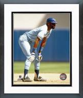 Kansas City Royals Willie Wilson Action Framed Photo