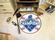 Kansas City Royals World Series Champs Baseball Rug