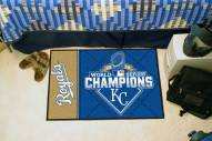 Kansas City Royals World Series Champs Starter Rug