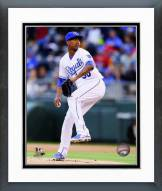 Kansas City Royals Yordano Ventura 2014 Action Framed Photo