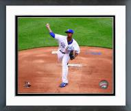 Kansas City Royals Yordano Ventura 2015 Action Framed Photo