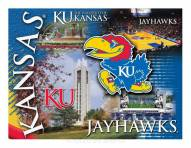 "Kansas Jayhawks 15"" x 20"" Printed Canvas"
