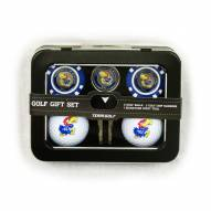 Kansas Jayhawks 2 Ball/2 Chip Golf Gift Set