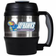 Kansas Jayhawks 52 oz. Stainless Steel Travel Mug