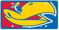 Kansas Jayhawks Acrylic Mega License Plate