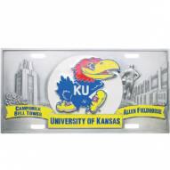 Kansas Jayhawks Collector's License Plate