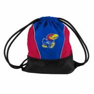 Kansas Jayhawks Drawstring Bag