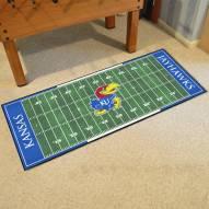 Kansas Jayhawks Football Field Runner Rug