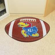 Kansas Jayhawks Football Floor Mat
